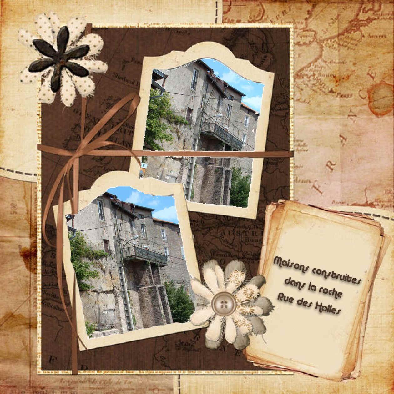 Scrap maison dans la roche - Limace dans la maison ...